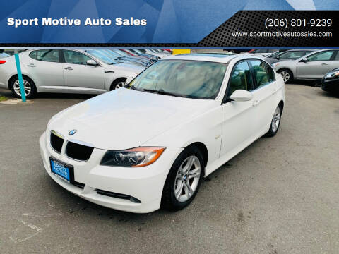 2008 BMW 3 Series for sale at Sport Motive Auto Sales in Seattle WA