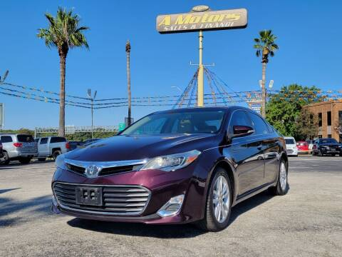 2013 Toyota Avalon for sale at A MOTORS SALES AND FINANCE in San Antonio TX