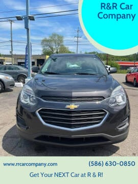 2016 Chevrolet Equinox for sale at R&R Car Company in Mount Clemens MI