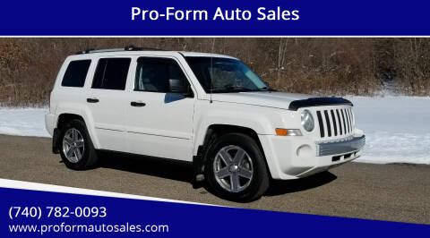 2007 Jeep Patriot for sale at Pro-Form Auto Sales in Belmont OH