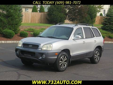 2003 Hyundai Santa Fe for sale at Absolute Auto Solutions in Hamilton NJ