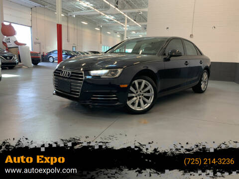 2017 Audi A4 for sale at Auto Expo in Las Vegas NV