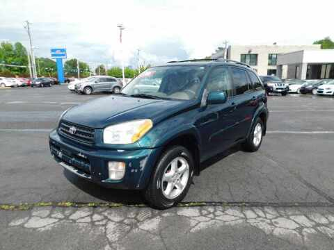 2002 Toyota RAV4 for sale at Paniagua Auto Mall in Dalton GA