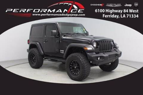 2020 Jeep Wrangler for sale at Performance Dodge Chrysler Jeep in Ferriday LA