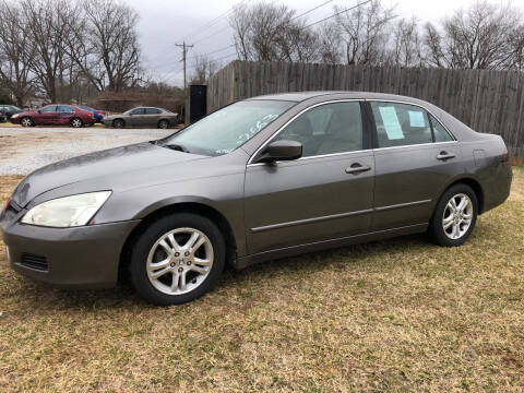 2007 Honda Accord for sale at Davie County Motors in Mocksville NC