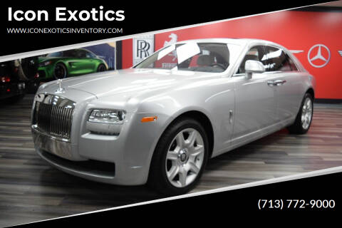 2012 Rolls-Royce Ghost for sale at Icon Exotics in Houston TX