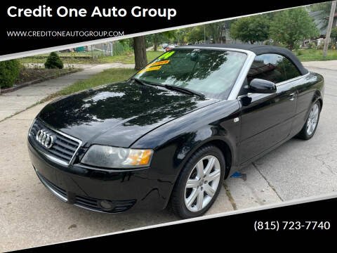 2004 Audi A4 for sale at Credit One Auto Group in Joliet IL