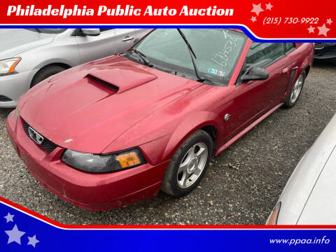 2004 Ford Mustang for sale at Philadelphia Public Auto Auction in Philadelphia PA