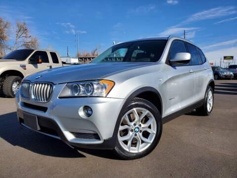2011 BMW X3 for sale at LA Motors LLC in Denver CO