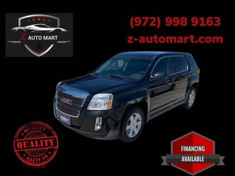 2013 GMC Terrain for sale at Z AUTO MART in Lewisville TX