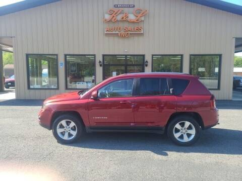 2014 Jeep Compass for sale at K & L AUTO SALES, INC in Mill Hall PA