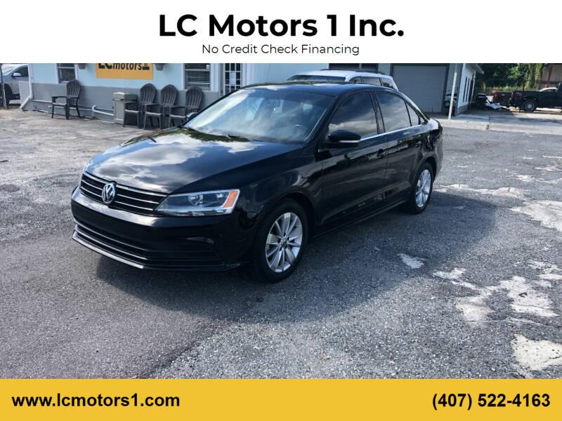 2016 Volkswagen Jetta for sale at LC Motors 1 Inc. in Orlando FL