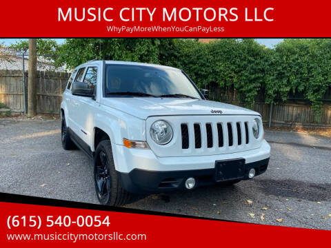 2015 Jeep Patriot for sale at MUSIC CITY MOTORS LLC in Nashville TN