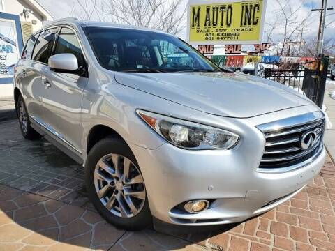 2013 Infiniti JX35 for sale at M AUTO, INC in Millcreek UT