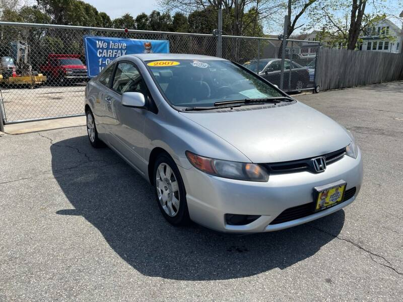 2007 Honda Civic for sale at JK & Sons Auto Sales in Westport MA