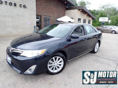 2012 Toyota Camry for sale at S & J Motor Co Inc. in Merrimack NH