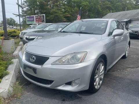 2007 Lexus IS 250 for sale at Clear Auto Sales in Dartmouth MA