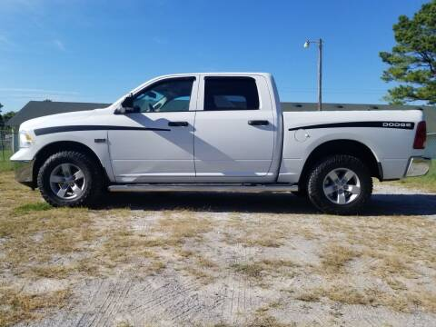 2016 RAM Ram Pickup 1500 for sale at Tennessee Valley Wholesale Autos LLC in Huntsville AL