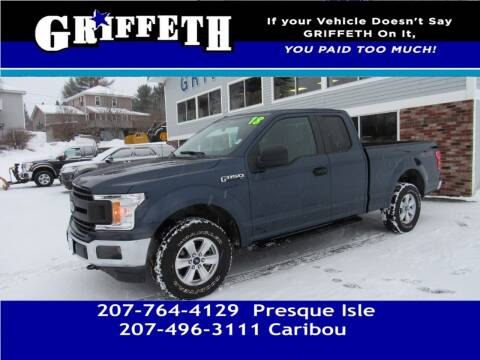 2018 Ford F-150 for sale at Griffeth Mitsubishi - Pre-owned in Caribou ME