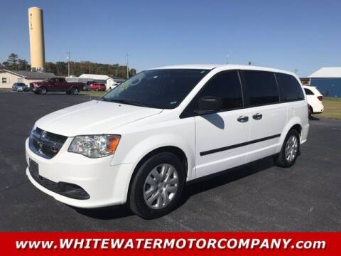 2016 Dodge Grand Caravan for sale at WHITEWATER MOTOR CO in Milan IN