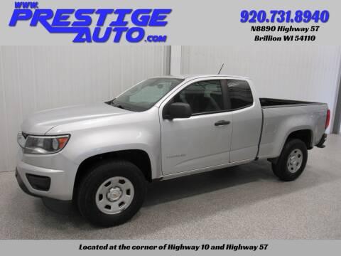 2018 Chevrolet Colorado for sale at Prestige Auto Sales in Brillion WI
