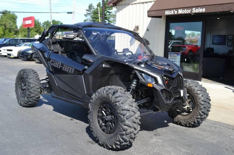 2019 Can-Am Maverick X3 for sale at Nick's Motor Sales LLC in Kalkaska MI