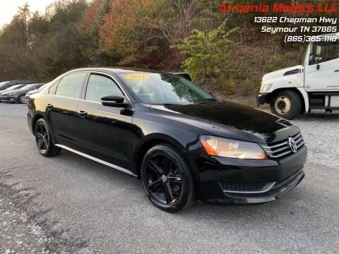 2014 Volkswagen Passat for sale at Armenia Motors in Seymour TN