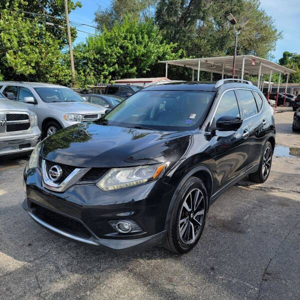2016 Nissan Rogue for sale at America Auto Wholesale Inc in Miami FL