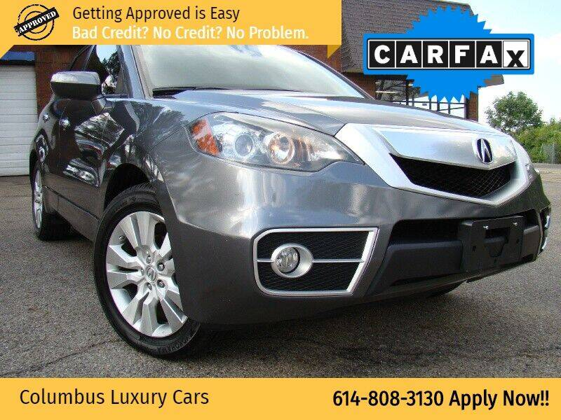 2012 Acura RDX for sale at Columbus Luxury Cars in Columbus OH
