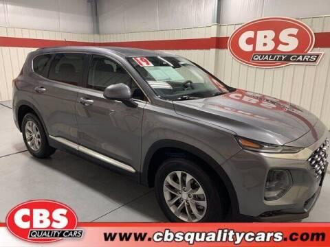2019 Hyundai Santa Fe for sale at CBS Quality Cars in Durham NC