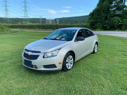 2013 Chevrolet Cruze for sale at Tennessee Valley Wholesale Autos LLC in Huntsville AL