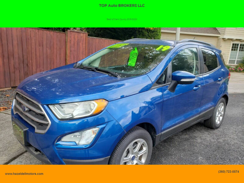 2019 Ford EcoSport for sale at TOP Auto BROKERS LLC in Vancouver WA