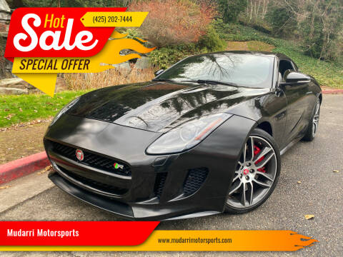 2015 Jaguar F-TYPE for sale at Mudarri Motorsports in Kirkland WA