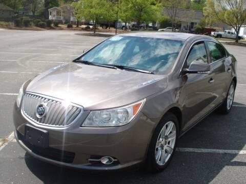 2012 Buick LaCrosse for sale at Uniworld Auto Sales LLC. in Greensboro NC