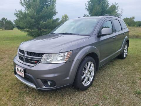2013 Dodge Journey for sale at OLBY AUTOMOTIVE SALES in Frederic WI