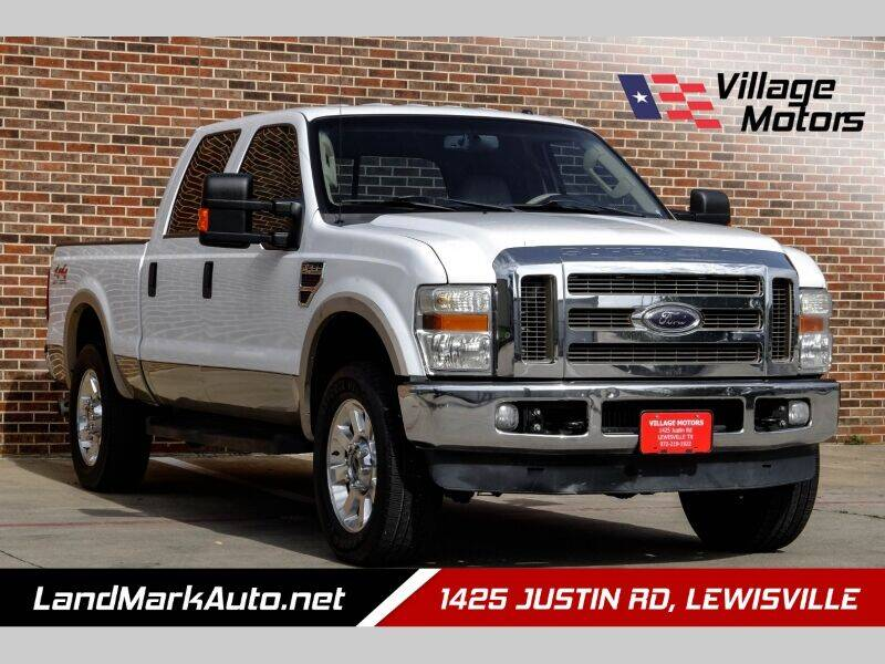 2008 Ford F-250 Super Duty for sale at Village Motors in Lewisville TX
