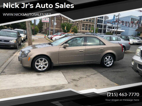 2006 Cadillac CTS for sale at Nick Jr's Auto Sales in Philadelphia PA