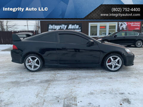 2006 Acura RSX for sale at Integrity Auto LLC in Sheldon VT