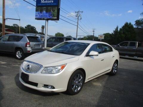 2011 Buick LaCrosse for sale at Mill Street Motors in Worcester MA