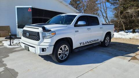 2018 Toyota Tundra for sale at CONCEPT MOTORS INC in Sheboygan WI