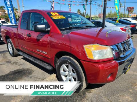 2009 Nissan Titan for sale at Super Cars Sales Inc #1 - Super Auto Sales Inc #2 in Modesto CA
