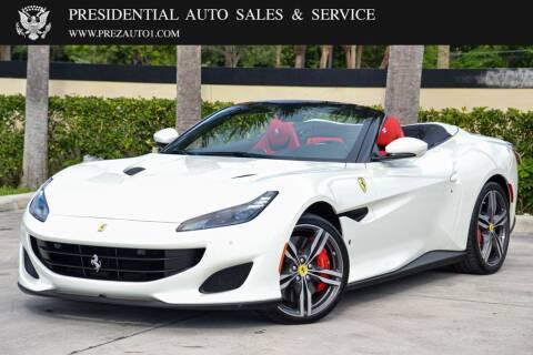 2019 Ferrari Portofino for sale at Presidential Auto  Sales & Service in Delray Beach FL