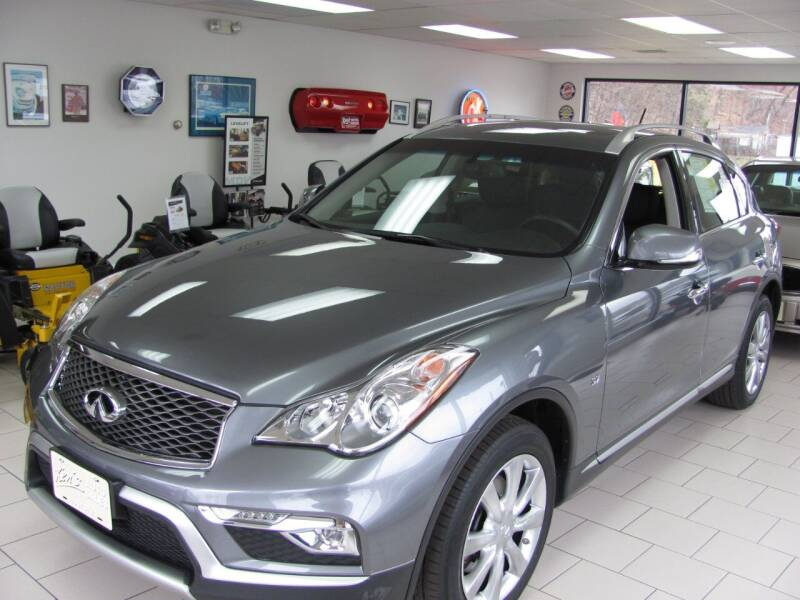 2017 Infiniti QX50 for sale at Kens Auto Sales in Holyoke MA