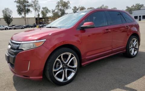 2013 Ford Edge for sale at SoCal Auto Auction in Ontario CA