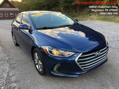 2017 Hyundai Elantra for sale at Armenia Motors in Seymour TN