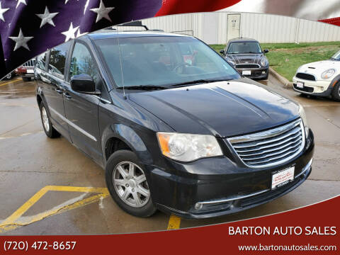 2012 Chrysler Town and Country for sale at Barton Auto Sales in Frederick CO