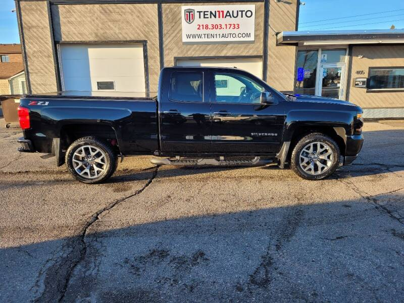 2018 Chevrolet Silverado 1500 for sale at Ten 11 Auto LLC in Dilworth MN