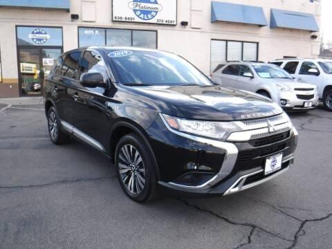 2019 Mitsubishi Outlander for sale at Platinum Auto Sales in Provo UT