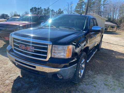 2013 GMC Sierra 1500 for sale at Southtown Auto Sales in Whiteville NC