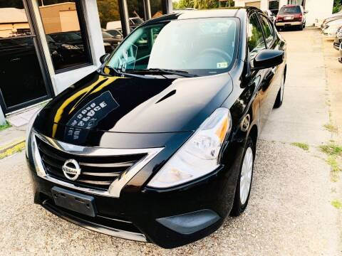 2015 Nissan Versa for sale at Auto Space LLC in Norfolk VA